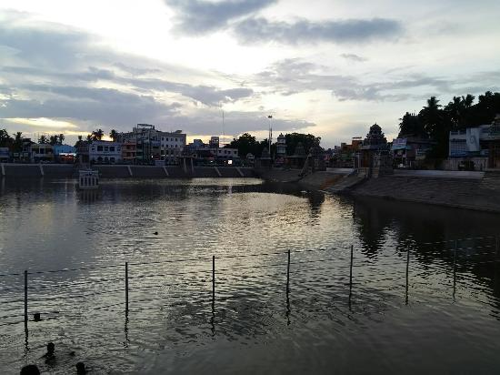 The foremost and one of the largest temple tanks in Tamil