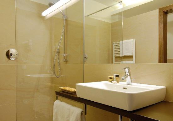 Hotel Garni Rundeck -Badezimmer