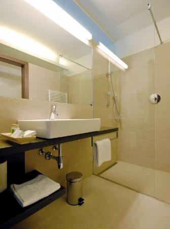 Hotel Garni Rundeck  - Badezimmer