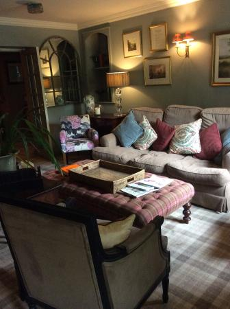The Pheasant Hotel: A lounge - home from home