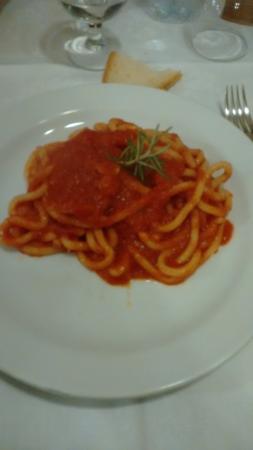 Ciciano, Italia: pici aglione