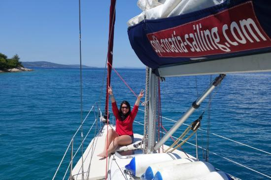 Dalmaçya, Hırvatistan: Great day Sailing! Best memories from our trip!