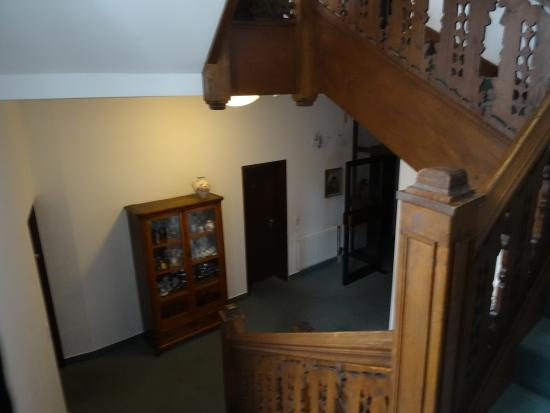 Barock Hotel am Dom: Staircase to top floors