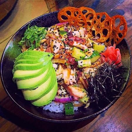 The Fish House: Octopus Poke bowl