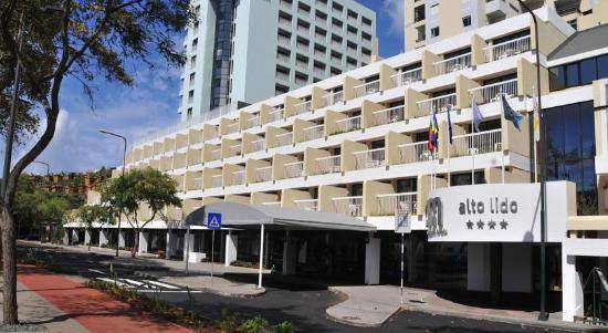 Alto Lido Hotel : Hotel main entrance