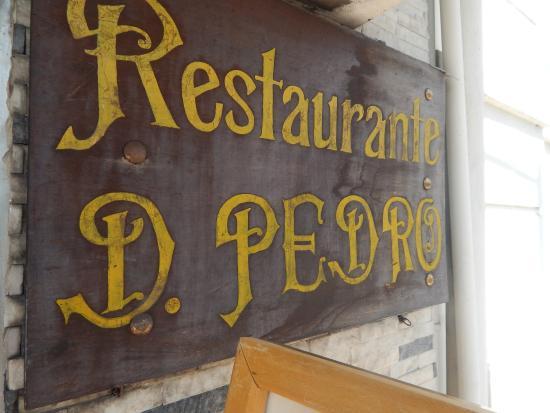Tabela De Precos Foto De Restaurante Dom Pedro Coimbra Tripadvisor