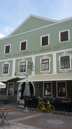 Zwettl Stadt, ออสเตรีย: Gasthof mit Schanigarten