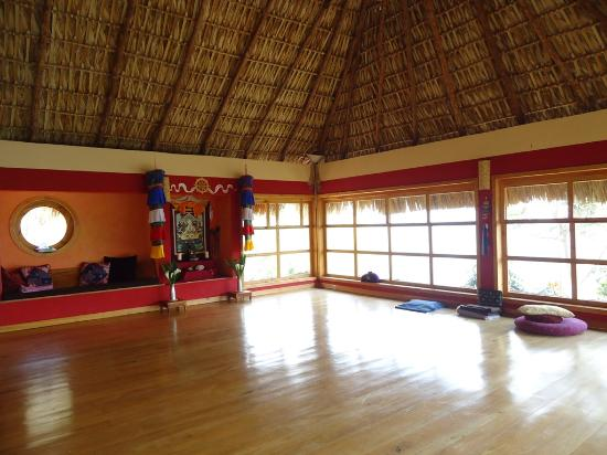 Villa Sumaya: yoga room