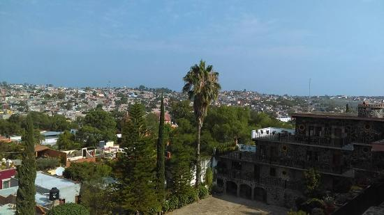 Hotel Posada de las Monjas: Hermosa vista desde una de las azoteas del hotel.