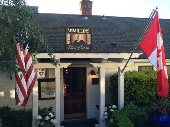 Roche Harbor, Waszyngton: Dining Room Entrance