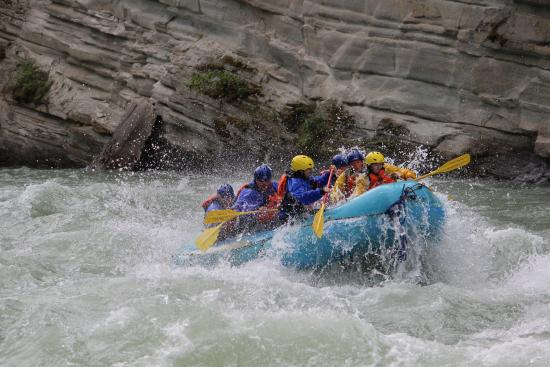 Stellar Descents White Water Rafting : Thrilling time