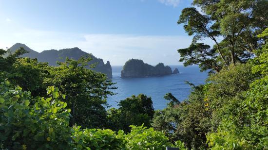 Sadie Thompson Inn: Some of the pristine wilderness on American Samoa