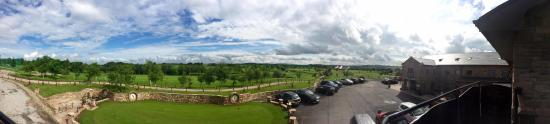 Withnell, UK: Panoramic taken from restaurant