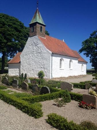 Juelsminde, Denmark: Hjarnø kirke