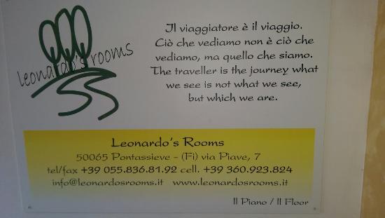 Leonardo's Rooms Locanda Nova B&B: IMAG0839_large.jpg