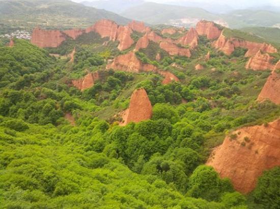 """Las Medulas, Spania: Visita """"obrigatória"""""""