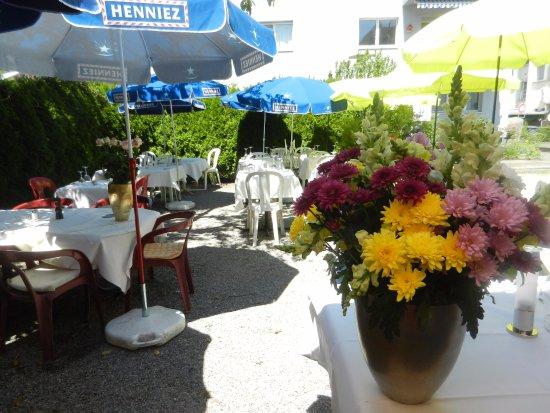 Restaurant Gonzalez: Il giardino interno