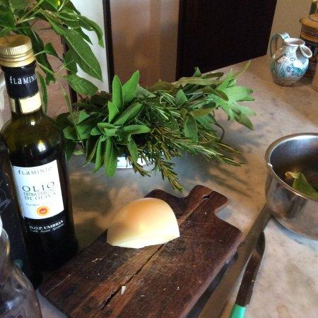 Anne's Italy : the kitchen work bench
