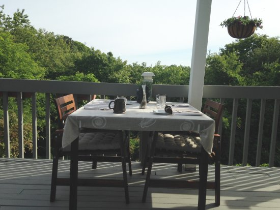 West Barnstable, MA: Table for two