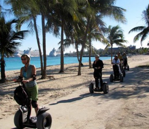 CST Bahamas Tours: A great day for a glide!