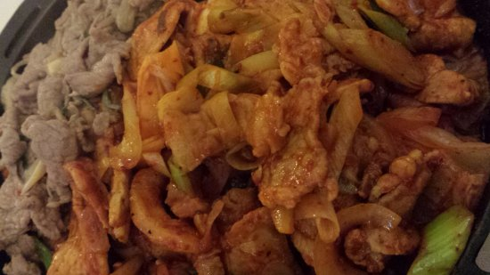 Dettaglio kimchi bulgoghi