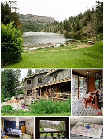 Mountain Springs Nature Retreat Lodging: Amazing view, amazing room!