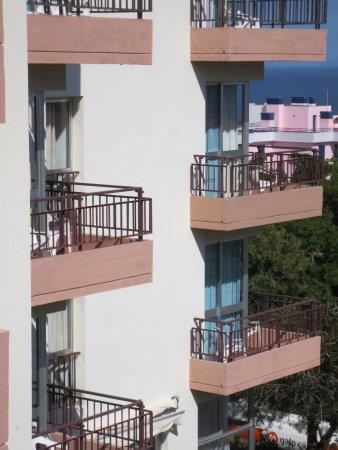 Dorisol Estrelicia: Balcons Hôtel Estrelicia
