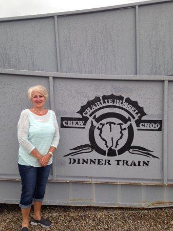 Charlie Russell Chew Choo Dinner Train Photo