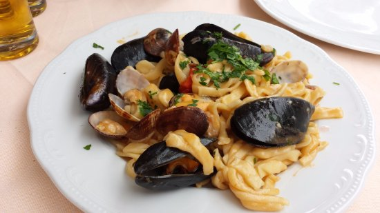 Pasta with Mussells