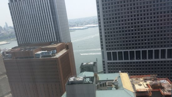 Doubletree By Hilton Hotel New York City Financial District View From 44th Floor
