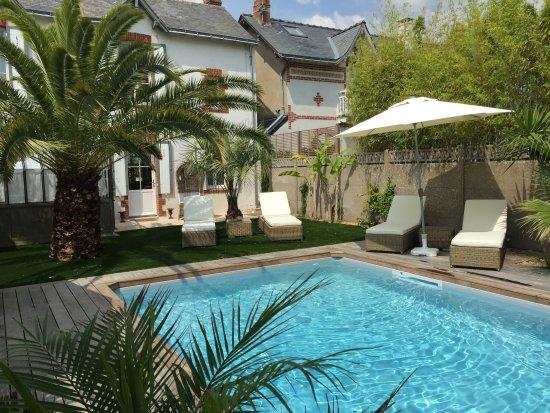 La piscine et le jardin photo de villa la ruche la Hotel les jardins de la villa tripadvisor