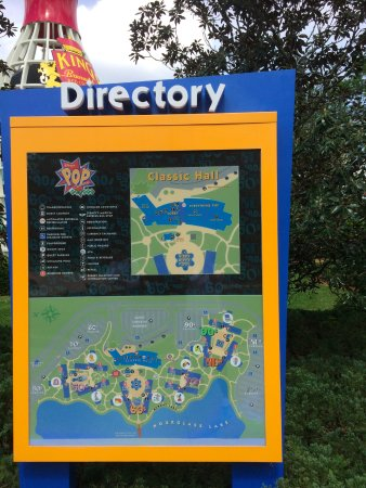 Property Map - Picture of Disney\'s Pop Century Resort ...
