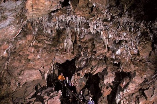 Black Chasm Cavern, Volcano