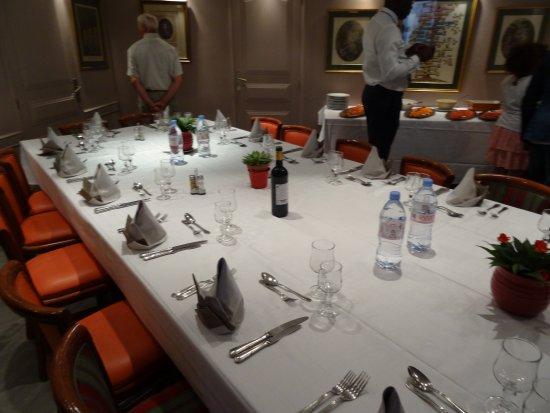 Banquet de 20 personnes