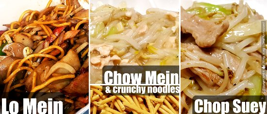Lo Mein Vs Chow Mein Vs Chop Suey For More Commonly Answered