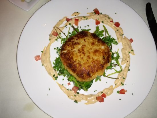 Peter Havens Restaurant: Heart of palm cake