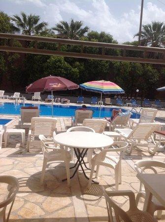 Donna Amalia Apartments: Pool side bar