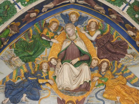 San Giovanni Valdarno, Italië: splendida terracotta