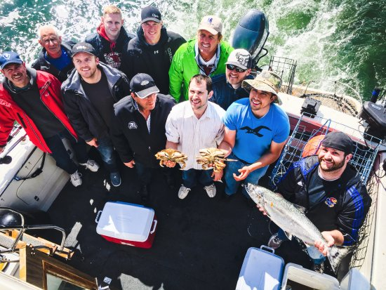 Ocean Adventure Center: Vancouver Fishing Charters: Awesome time aboard!