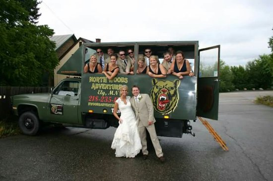 Ely, MN: Love their Big Green Bear Truck ...