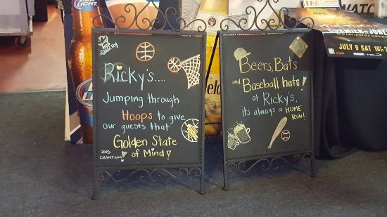 Ricky's Sports Theatre And Grill: 20160613_174148_large.jpg