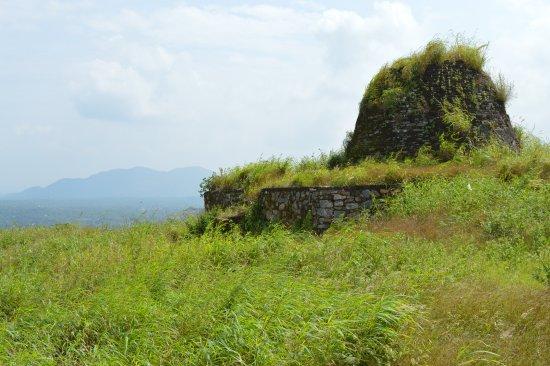 Yapahuwa, Sri Lanka: at the top