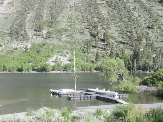 Boat Docks, Lundy Lake, Lee Vining, Ca