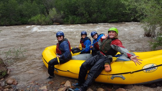 4 Corners Whitewater / Telluride : we survived thanks to our guide Amanda