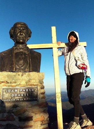Pico Duarte: Here I am glory!