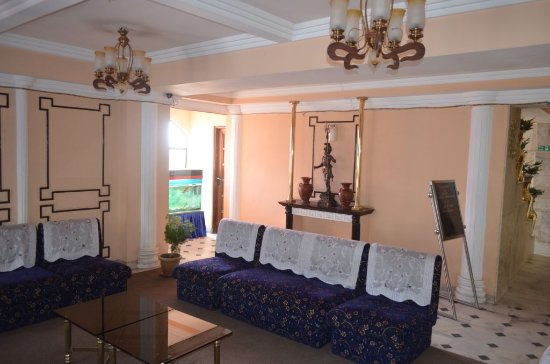 Hotel Alpine Continental: Welcome area near Reception