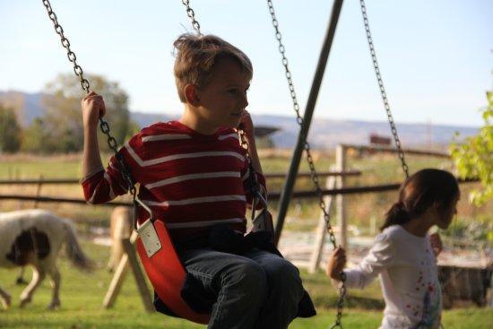 Okanogan, WA: Swing