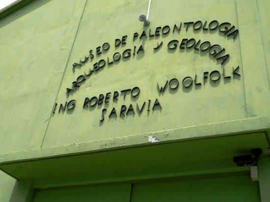 Zacapa, Guatemala: Entrada del museo
