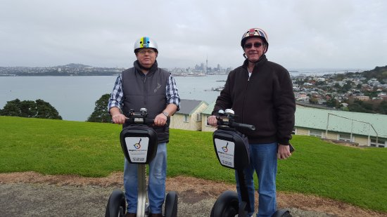 MagicBroomstick (Segway) Tours : Two Duffers having a laugh