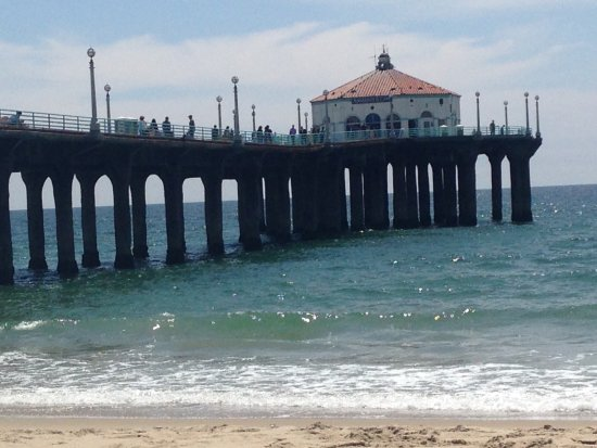 Manhattan Beach Pier Take A Bronze In This Beautiful